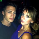 Erin with Teen Wolf's Colton Haynes