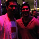Mario with Teen Wolf's Tyler Hoechlin