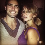Erin with Teen Wolf's Tyler Hoechlin