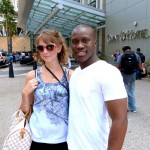 Erin with Twilight's Amadou Ly