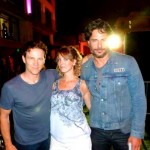 More True Blood cuties with Erin, Stephen Moyer and Joe Manganiello.