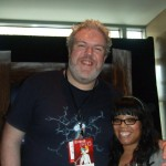 Who: Kristian Nairn (Hodor from Game of Thrones)