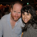 Megan & Josh Whedon, who visited the line for Ballroom 20 at 3:30 in the morning!