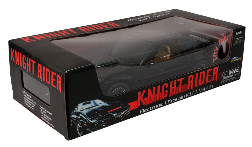 On Sale This Week From DST: Knight Rider 1/15 KITT and Marvel Select