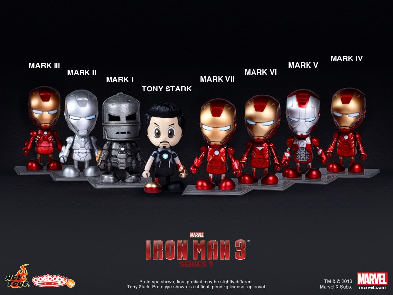 iron man 3 cosbaby 10