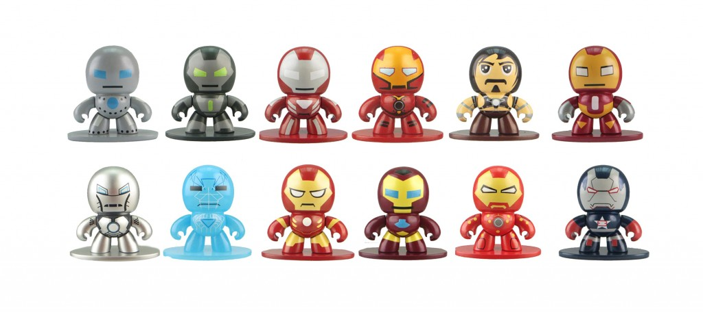 IRON MAN MICRO MUGGS Wave 2