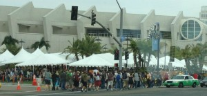 Outside Hall H