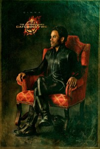 The Hunger Games Catching Fire Cinna Portrait