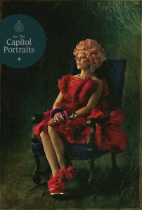The Hunger Games Catching Fire Effie Trinket Portrait