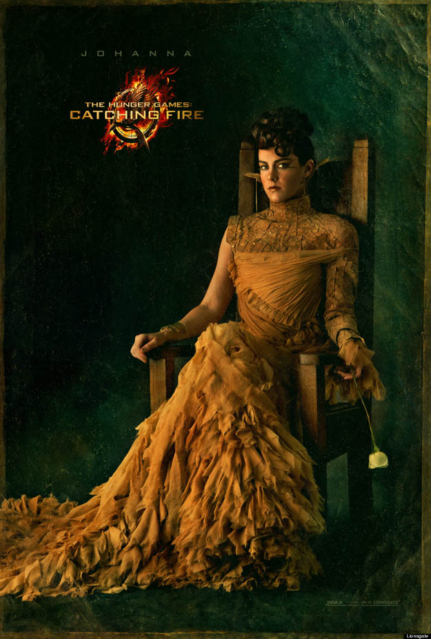 The Hunger Games Catching Fire Johanna Mason Portrait