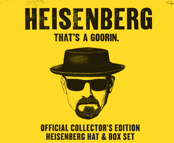 Breaking Bad Goorin 1