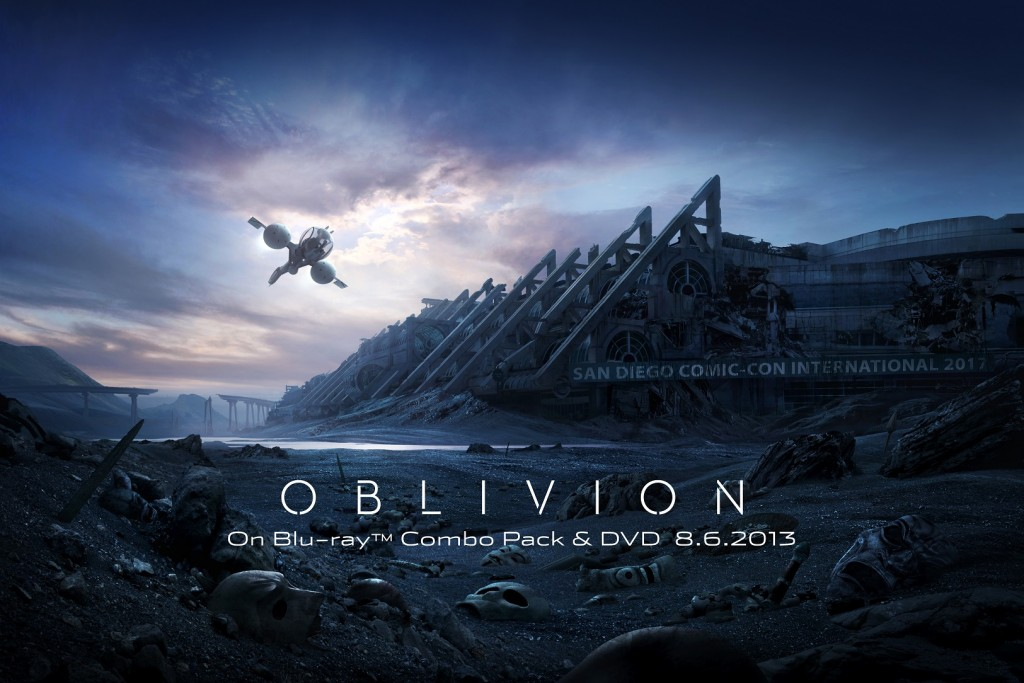 Comic-Con Exclusive Oblivion Image