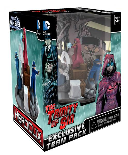 San Diego Comic-Con 2013 Exclusive DC HeroClix Trinity of Sin New 52 Team Base - Pandora, The Phantom Stranger & The Question