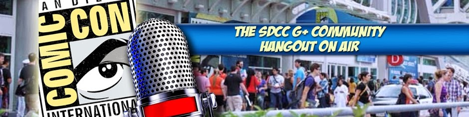 The first SDCC G+ COMMUNITY Hangout On Air