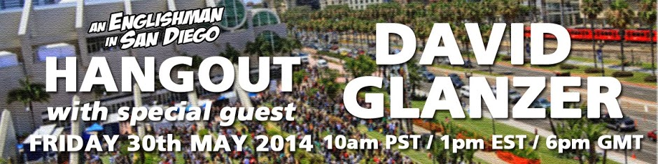 Hangout - On Air with David Glanzer (30th May 2014) (google+ banner)