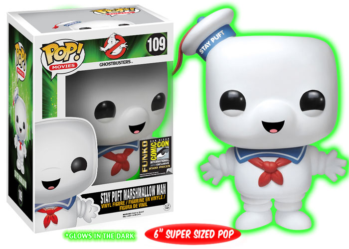 Speaking of Stay Puft... this one GLOWS IN THE DARK!