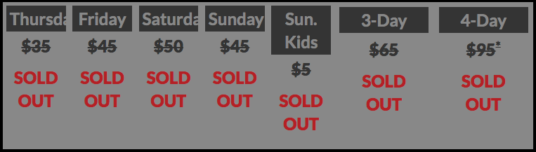 NYCC 2014 Prices