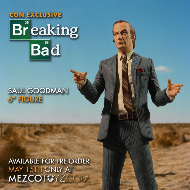 Mezco announces sdcc better call saul exclusive when nerds attack everyone knows sdcc is a wild time for everyone but if you happen to find yourself in a jam that only a silver tongued lawyer can get you out of then you colourmoves