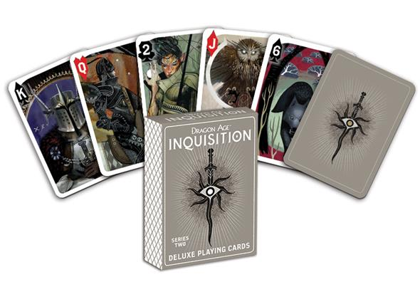 Dragon Age: Inquisition Deluxe Playing Cards - Series Two - Convention Exclusive $8.00 Limited Edition of 2,000 10 per person per day