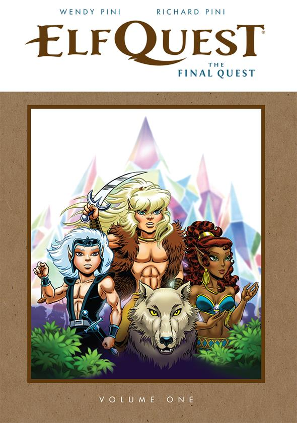 Elfquest: The Final Quest Hardcover - Convention Exclusive $30.00 Limited Edition of 1,000 5 per person per day