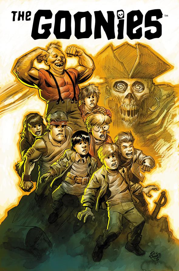 The Goonies 30th Anniversary San Diego Comic-Con Exclusive Print by Eric Powell $20.00 Limited of 1,500 5 per person per day