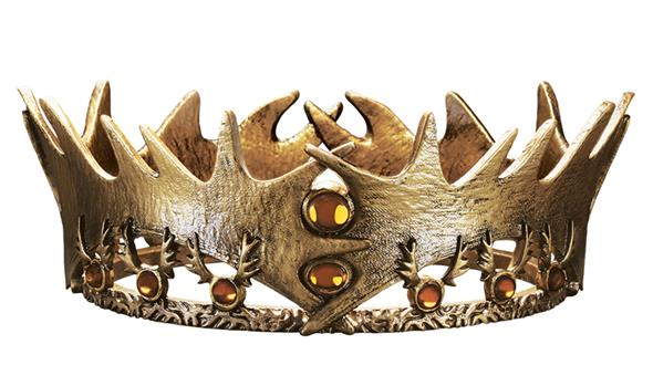Games of Thrones: Robert Baratheon Crown - SDCC Exclusive Mini Replica $60.00 Limited Edition of 400 2 per person per day