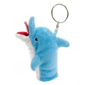 Archer – Pam's Dolphin Keychain 2015 Convention Exclusive Conduct HR mediations on the go! This Convention Exclusive keychain / finger-puppet is shaped like the lovely Pam Poovey's famous dolphin puppet (in stunning, fan-favorite blue) and will be the ideal addition to any Archer collection.  Pam carries one—why not you?