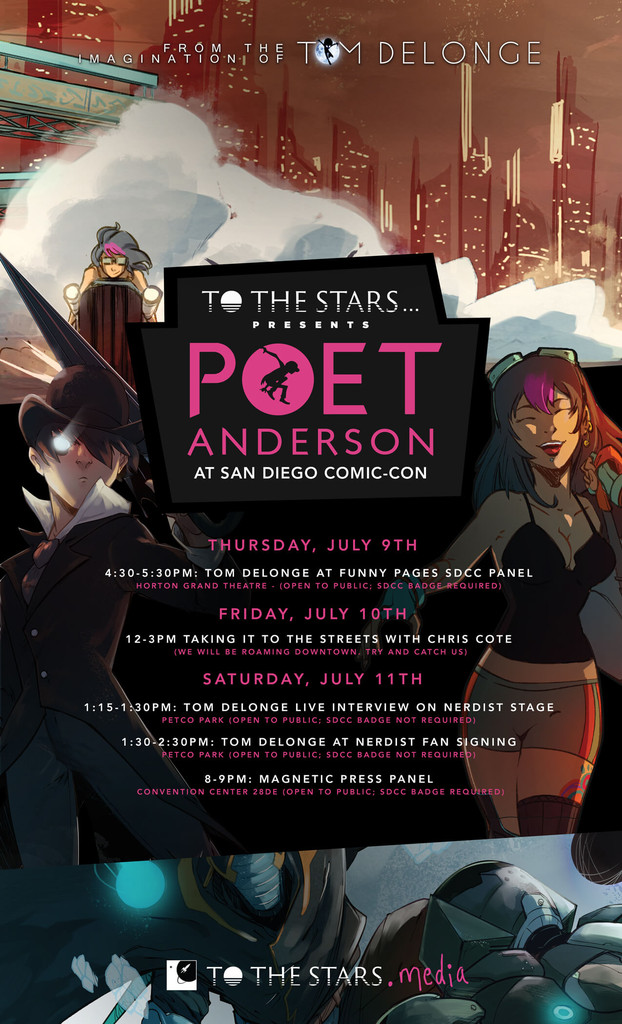 Poet Anderson SDCC