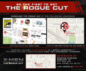 Rogue Cut Screening Invite w Map
