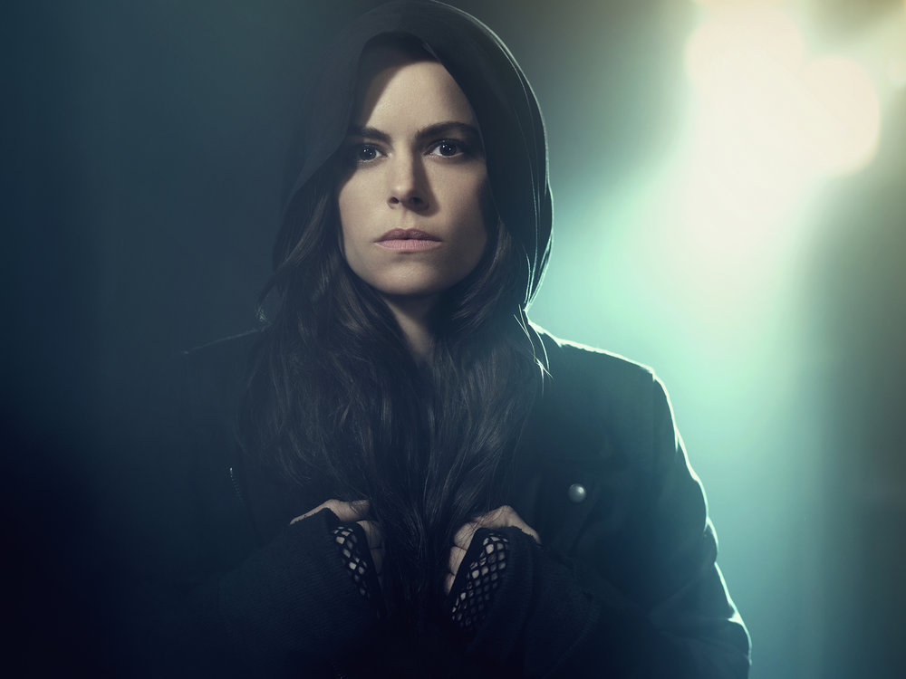 12 MONKEYS -- Season:2 -- Pictured: Emily Hampshire as Jennifer Goines -- (Photo by: Rodolfo Martinez/Syfy)