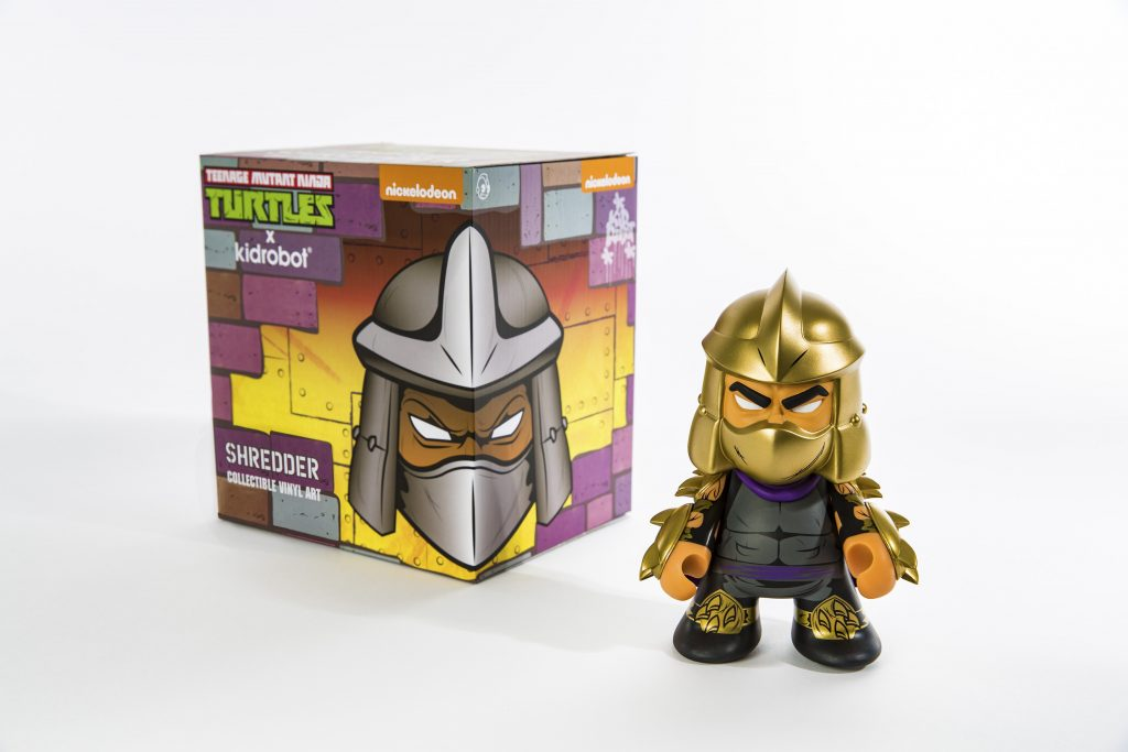 SDCC 2016_Nick_Kidrobot Shredder Box and Figure