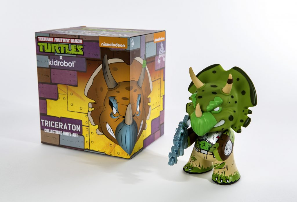 SDCC 2016_Nick_Kidrobot Triceraton Box and Figure