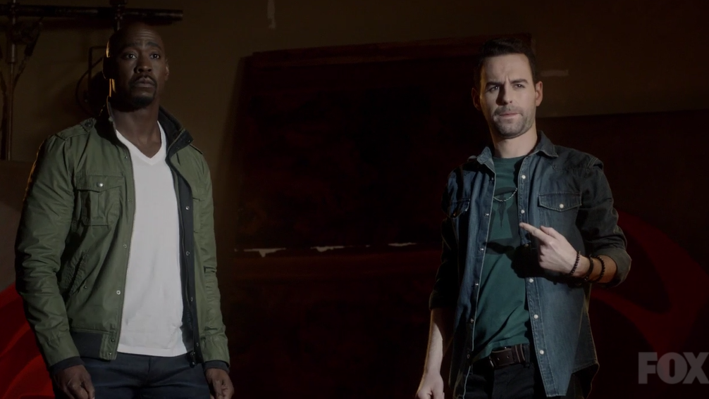 Lucifer is totally winging it at the end of this episode